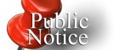 Notice of a special Board work session to discuss strategic planning